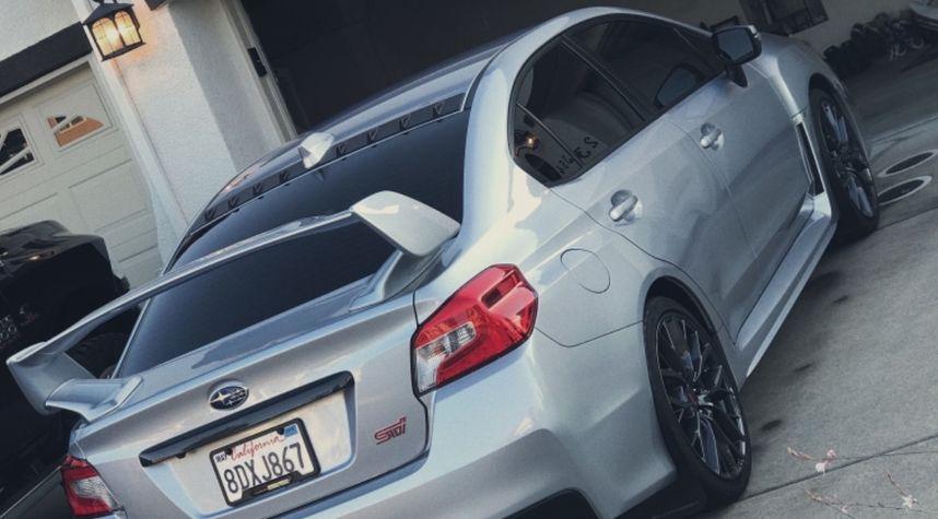 Main photo of Andrew Davidson's 2018 Subaru WRX