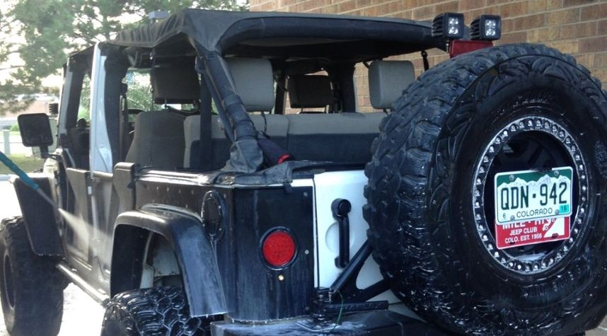Main photo of Jaron Allen's 2008 Jeep Wrangler