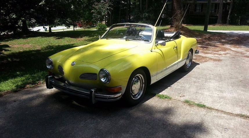 Main photo of Ryan Carey's 1974 Volkswagen Karmann Ghia