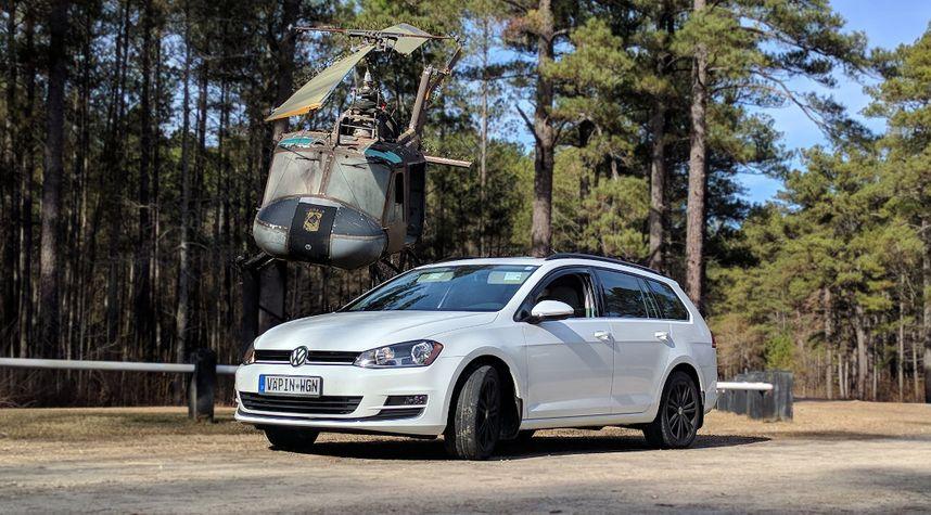 Main photo of Bret Svoboda's 2015 Volkswagen Golf SportWagen