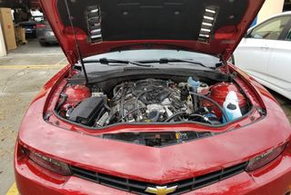 homepage tile photo for Overkill Supercharged Camaro