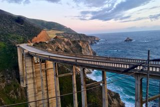 homepage tile photo for Road trip and drove through big Sur