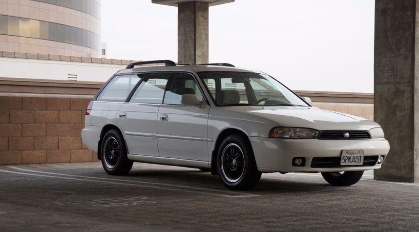 Main photo of Anthony Quiniano's 1995 Subaru Legacy