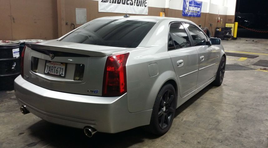 Main photo of Michael Pine's 2004 Cadillac CTS-V