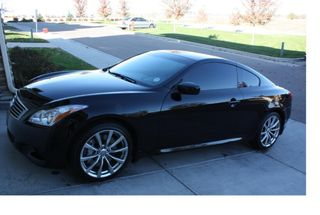 homepage tile photo for New Wheels on the G37!