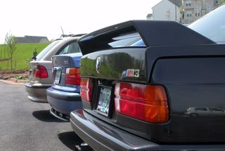 homepage tile photo for Family portrait before the E30 and E39 were sold.