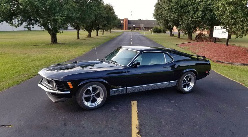 Main photo of Tom Jackson's 1970 Ford Mustang