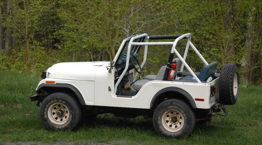 Main photo of Andrew Blackwood's 1977 Jeep CJ-5