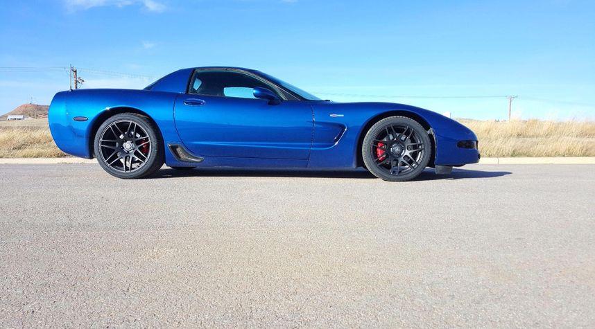 Main photo of Colton Haeffner's 2002 Chevrolet Corvette