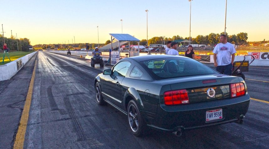 Main photo of Andy Bennett's 2008 Ford Mustang