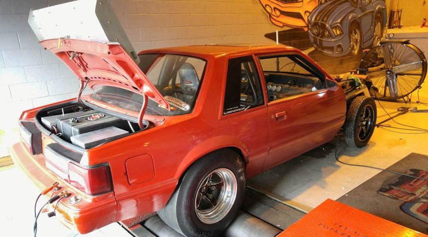 Main photo of Craig Hager's 1987 Ford Mustang