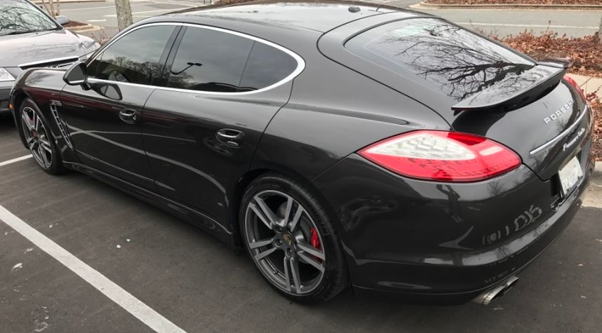 Main photo of Tyler Rowe's 2012 Porsche Panamera