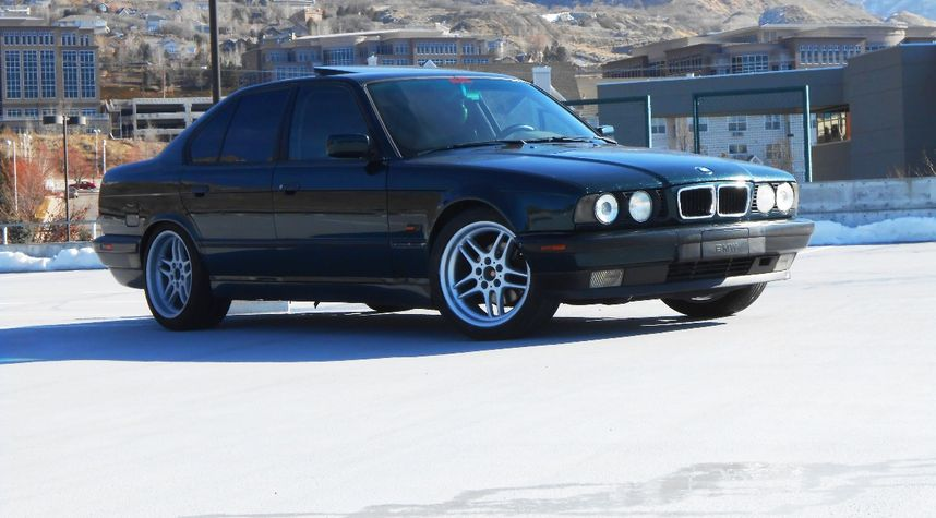 Main photo of James Manning's 1995 BMW 530