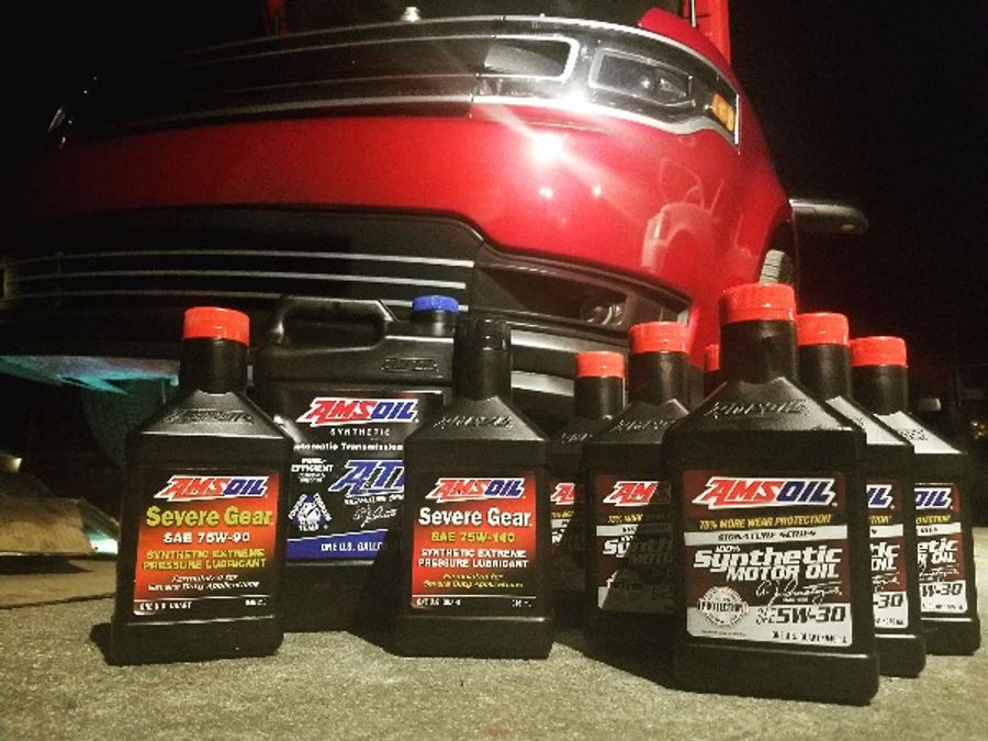 Amsoil Severe Gear 75w 90 >> Amsoil Severe Gear Full Synthetic 75w 90 Rear Differential