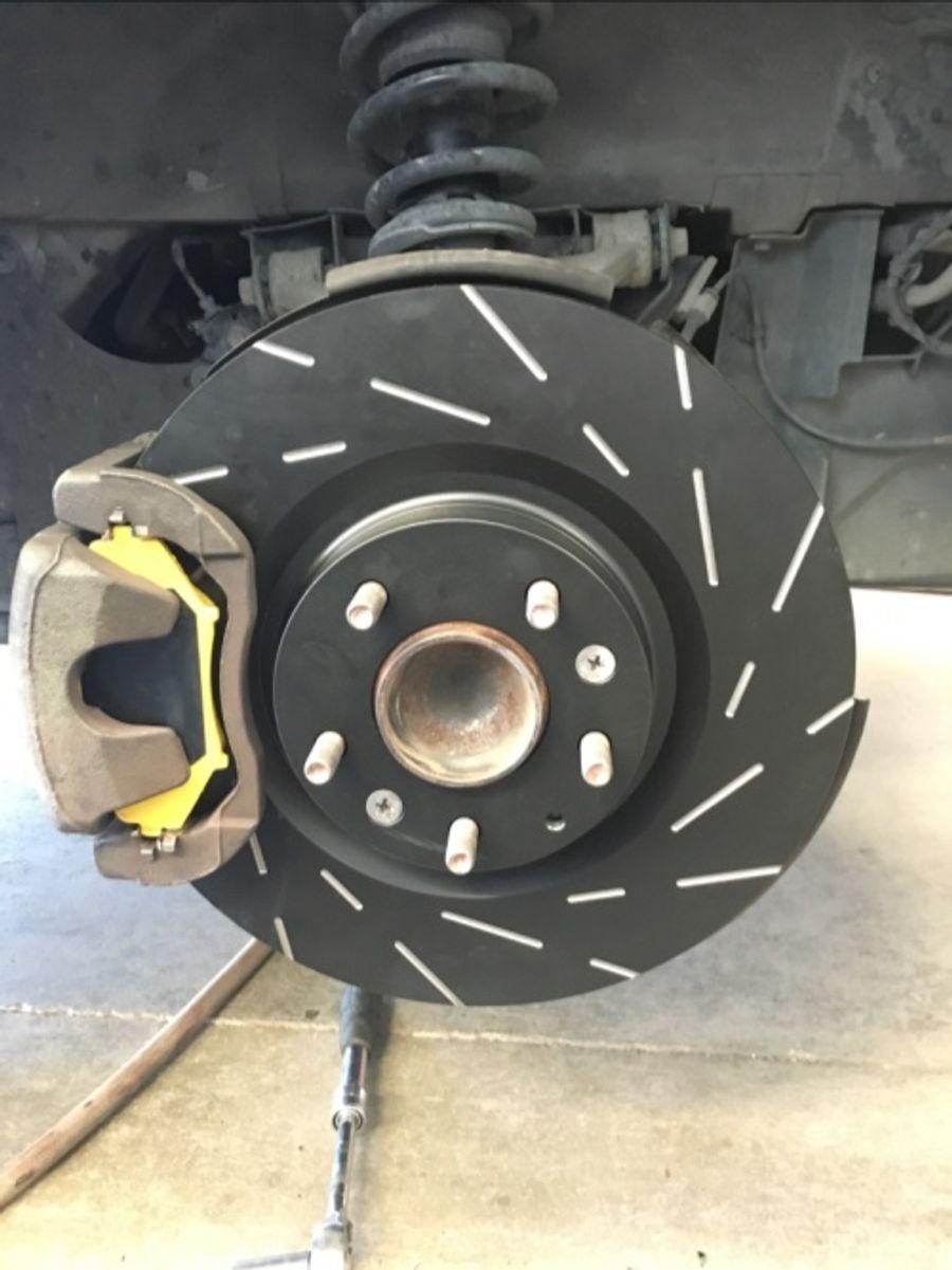 EBC Brakes DP41665R Yellowstuff Brake Pads