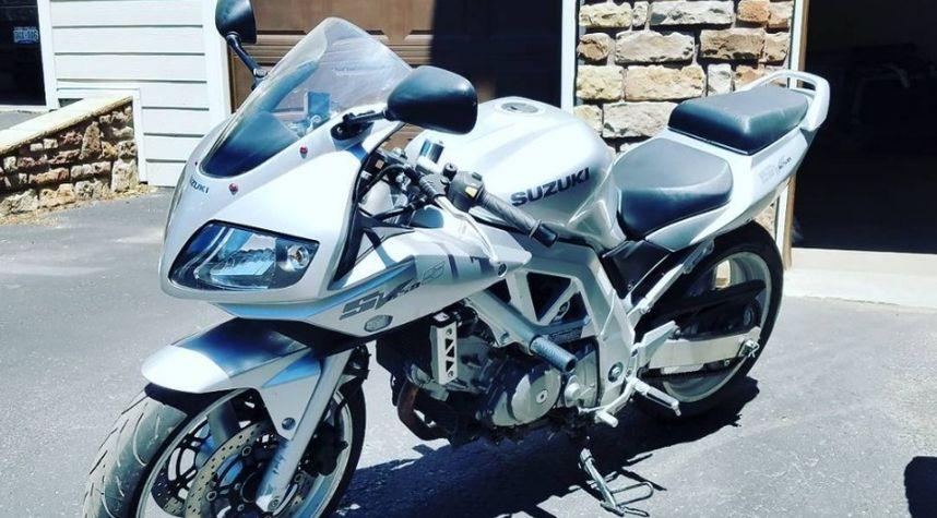 Main photo of Matt Adam's 2003 Suzuki SV650S
