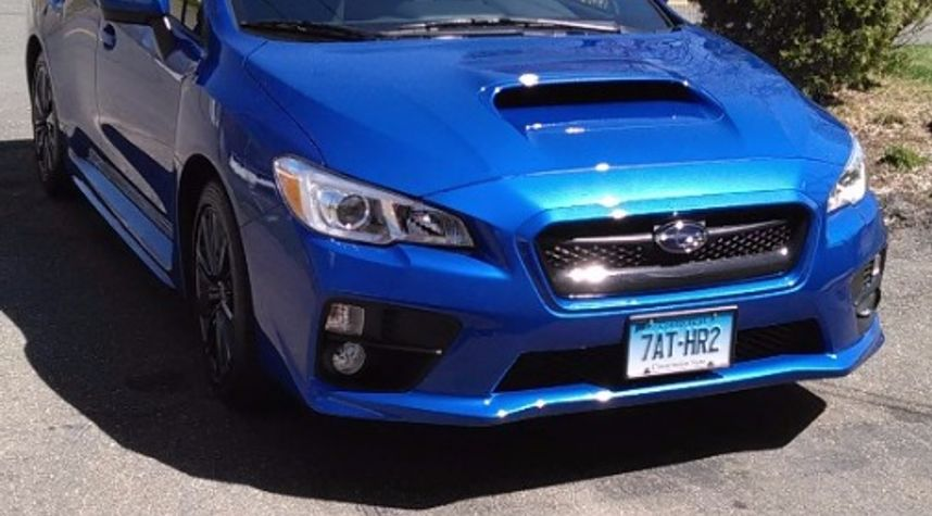 Main photo of Napa Mike's 2015 Subaru WRX