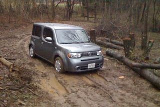 homepage tile photo for Throwback Thursday to when I foolishly took a Nissan Cube off...