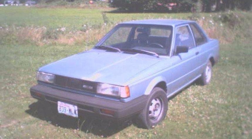 Main photo of Calvin Burkhead's 1987 Nissan Sentra
