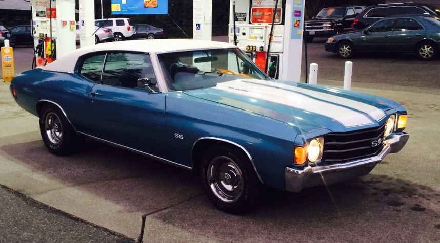 Main photo of Thomas Cagley's 1972 Chevrolet Chevelle