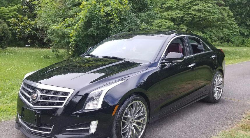 Main photo of Kyle Lunsford's 2013 Cadillac ATS
