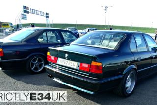 homepage tile photo for BMW E34 5 Series