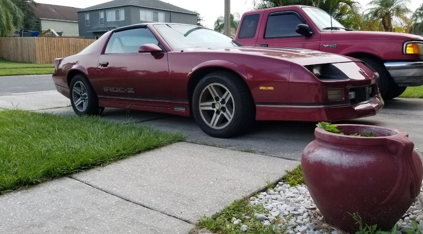 Main photo of Noah McLean's 1988 Chevrolet Camaro