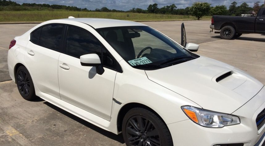 Main photo of Hayden Benson's 2015 Subaru WRX