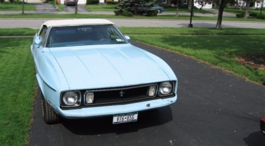 Main photo of Andrew Masterson's 1973 Ford Mustang
