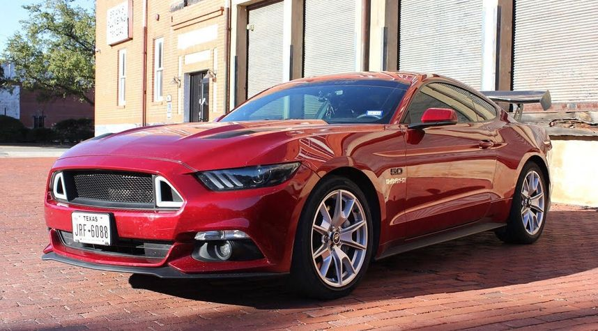 Main photo of Colby Roberts's 2015 Ford Mustang