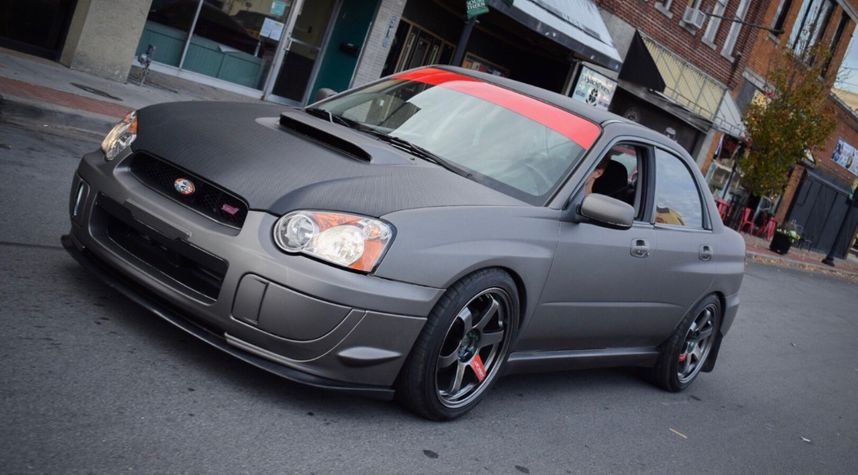 Main photo of Alex McCollough's 2004 Subaru Impreza