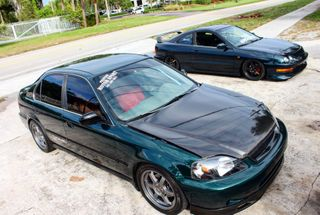 homepage tile photo for 1000hp K SERIES EK SEDAN and then theirs my little integra that...