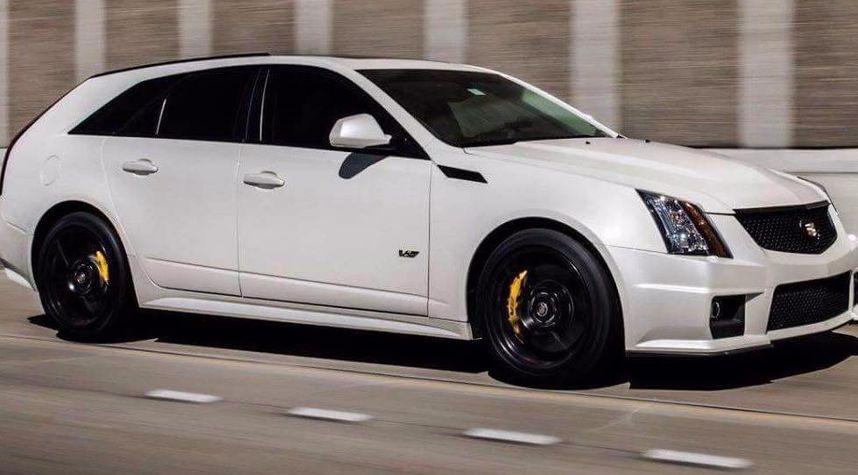 Main photo of John Mikeska's 2014 Cadillac CTS-V Wagon