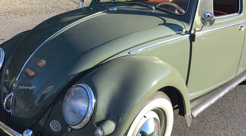 Main photo of Rob Penwell's 1956 Volkswagen Beetle (Pre-1980)
