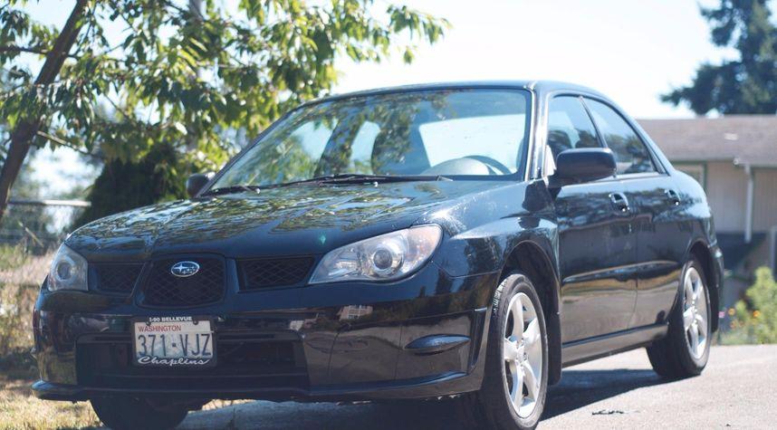 Main photo of Calvin Burkhead's 2006 Subaru Impreza