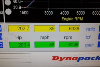 homepage tile photo for Made some decent power on the dyno - the car is coming along...