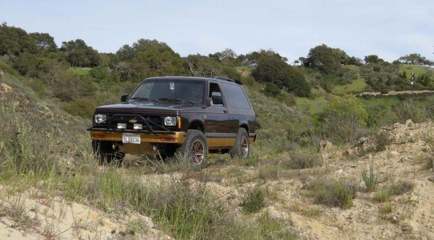 Main photo of Harrison Davis's 1985 Chevrolet S-10 Blazer