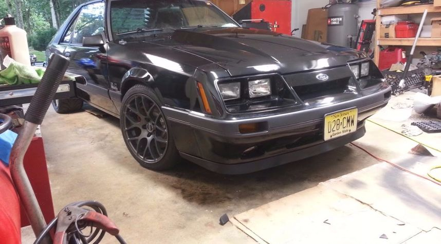 Main photo of Christopher Pearson's 1986 Ford Mustang
