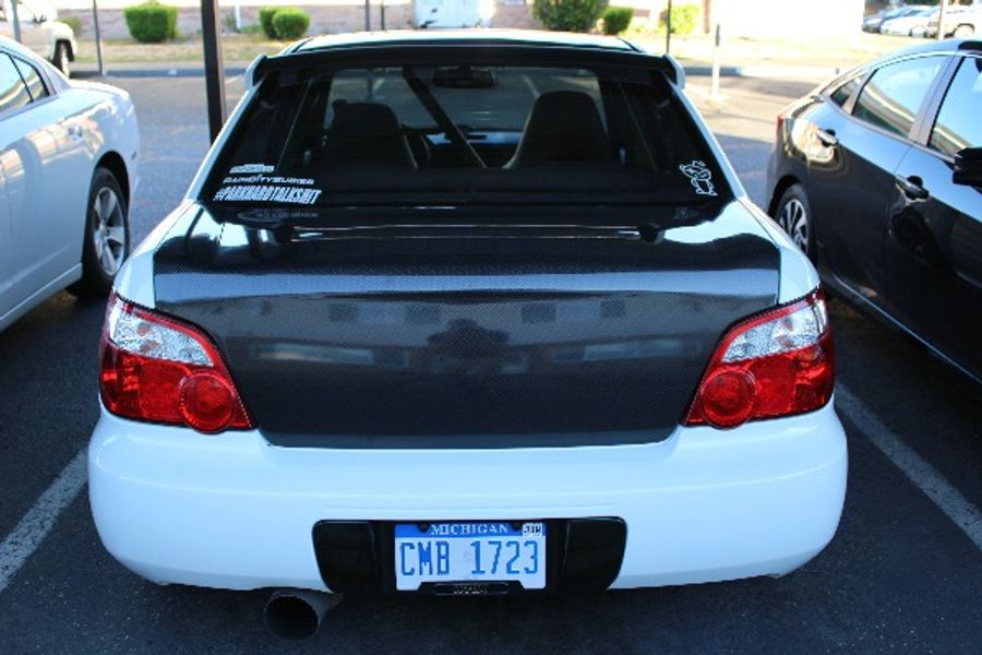 Subaru 05 Sti Tail Lights Installed On Dan Connors S Subaru Impreza Wrx On Wheelwell
