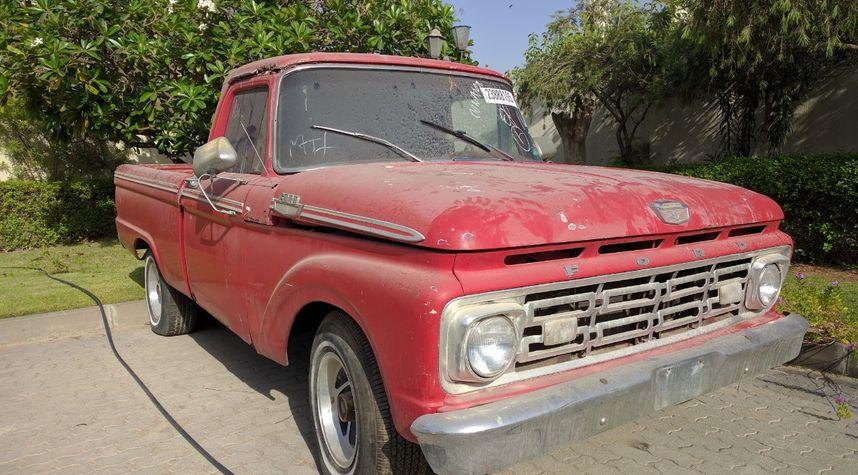 Main photo of Khalid AlQasimi's 1964 Ford F100