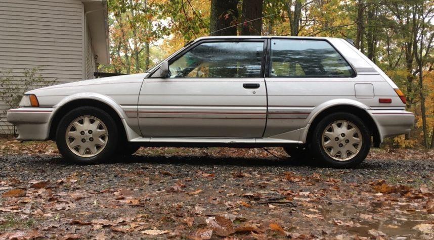 Main photo of Clayton Ashby's 1987 Toyota Corolla