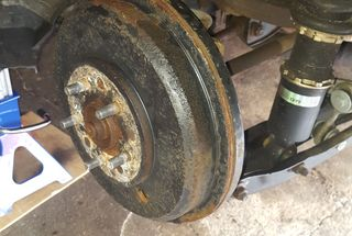 homepage tile photo for Drum to Disk Brake Conversion