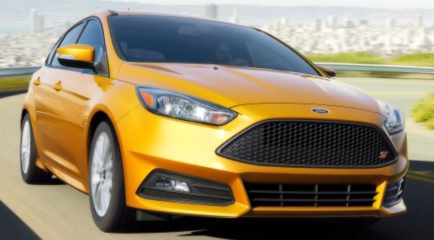 Main photo of Aidan McConkey's 2015 Ford Focus_ST