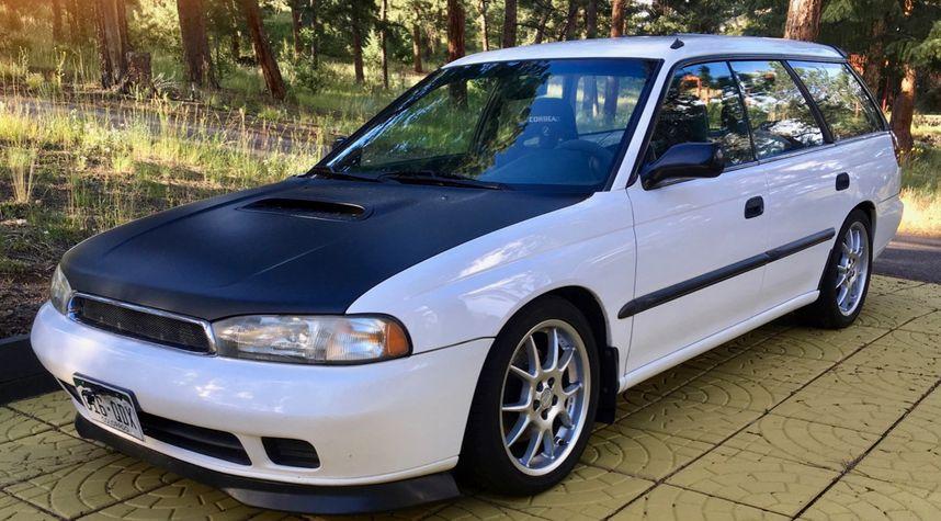 Main photo of Steve Clasen's 1997 Subaru Legacy