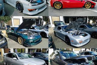 homepage tile photo for Some of our Endless Projects cars at Shukai this passed weekend...