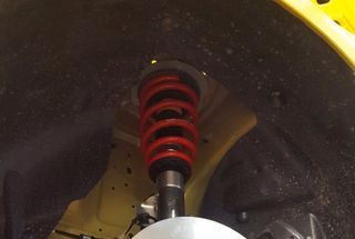 homepage tile photo for Finished installing the Roush (made by KW) 3-way adjustable coilovers...