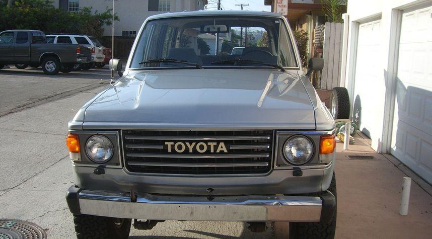 Main photo of David Hughson's 1985 Toyota Land Cruiser