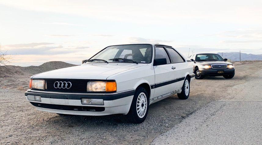 Main photo of Stephen Villagrasa's 1986 Audi Coupe