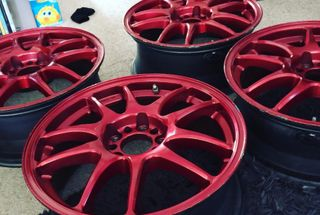 homepage tile photo for A Before picture of my newly aquired wheels   Work Cr-Kais in...