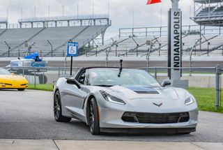 homepage tile photo for I got to drive my Corvette on the Indianapolis Motor Speedway!